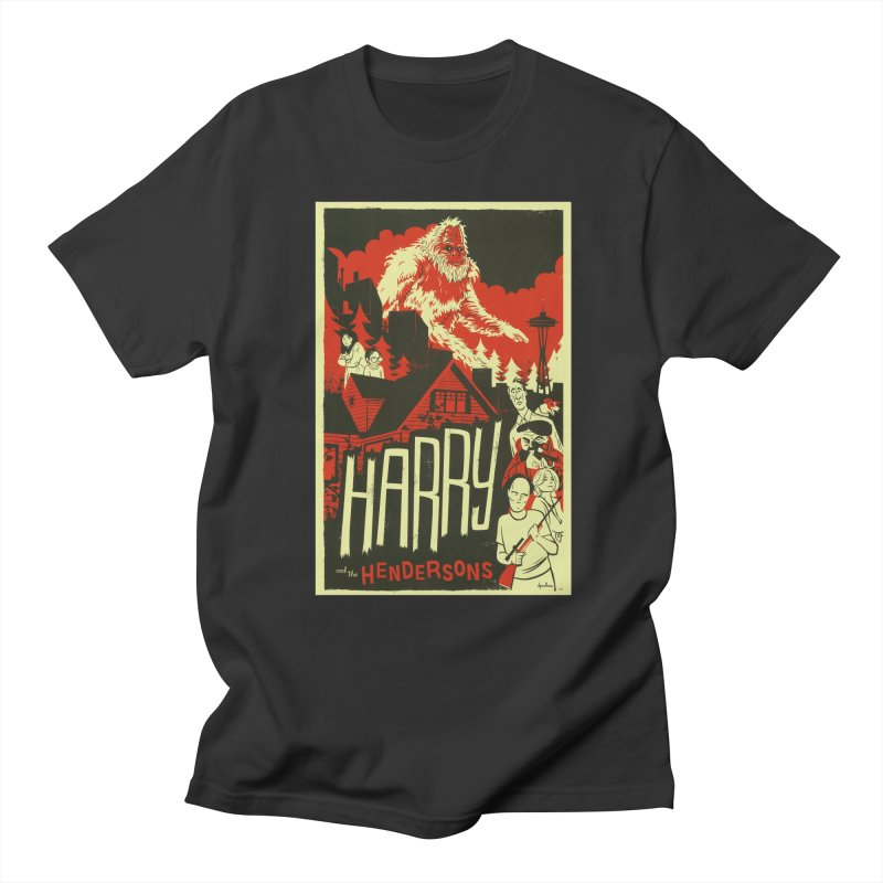 Harry and the Hendersons Men's Regular T-Shirt by Hazy Dell Press