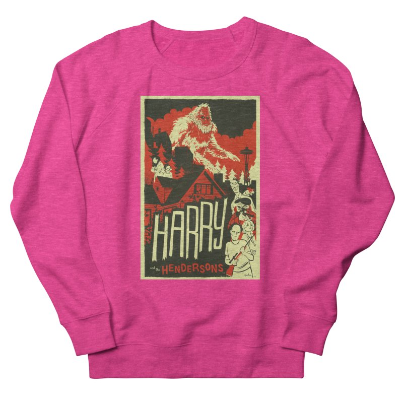 Harry and the Hendersons Women's Sweatshirt by Hazy Dell Press