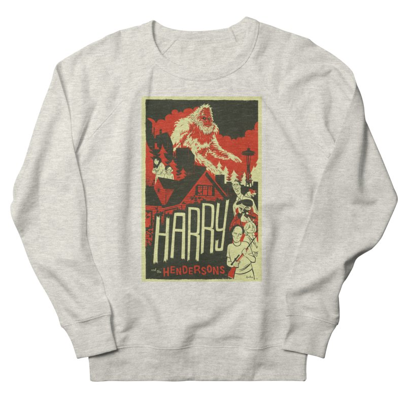 Harry and the Hendersons Women's French Terry Sweatshirt by Hazy Dell Press