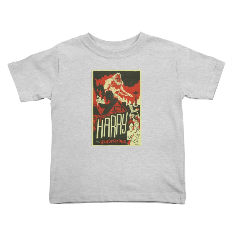 Harry and the Hendersons Kids Toddler T-Shirt by Hazy Dell Press