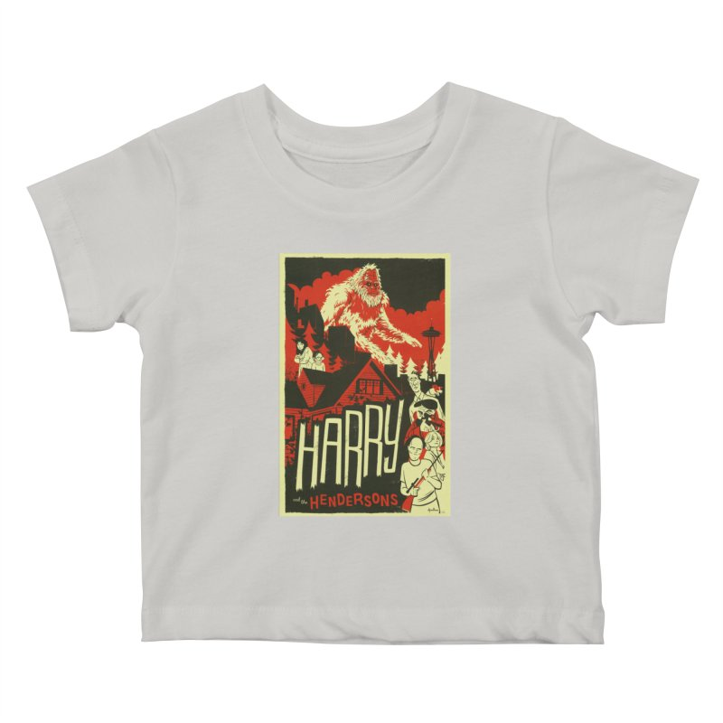 Harry and the Hendersons Kids Baby T-Shirt by Hazy Dell Press
