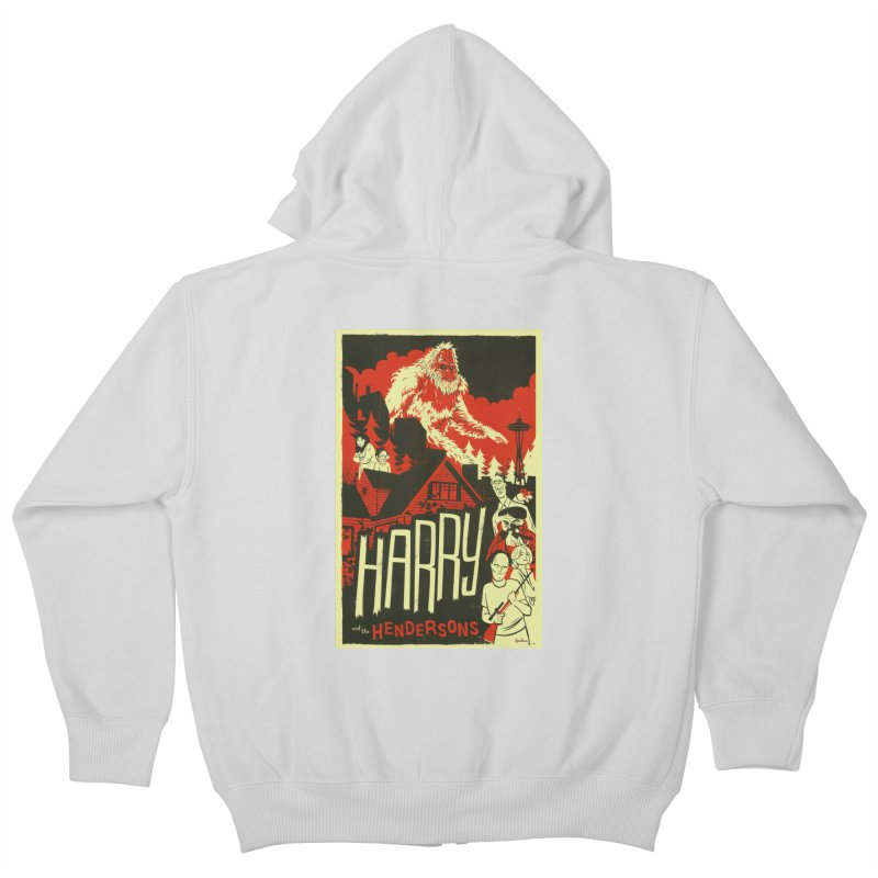 Harry and the Hendersons Kids Zip-Up Hoody by Hazy Dell Press