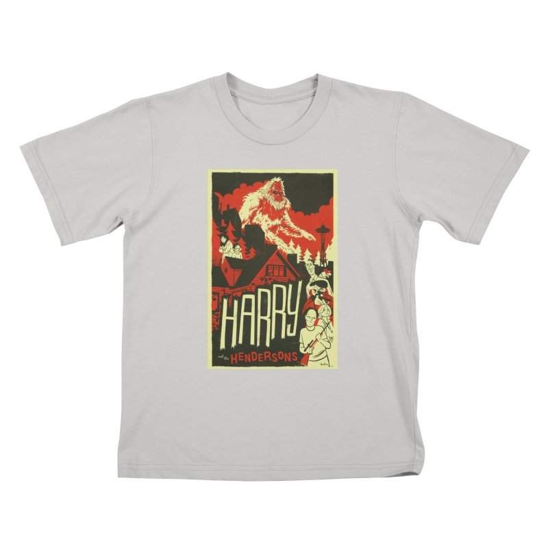 Harry and the Hendersons Kids T-shirt by Hazy Dell Press