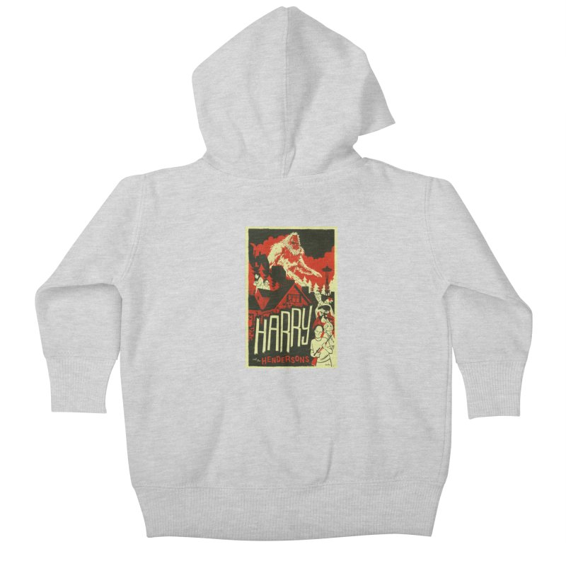 Harry and the Hendersons Kids Baby Zip-Up Hoody by Hazy Dell Press