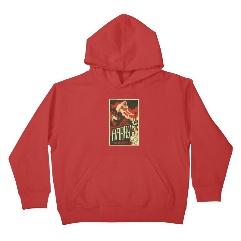 Harry and the Hendersons Kids Pullover Hoody by Hazy Dell Press