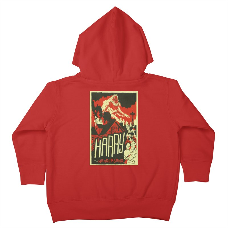 Harry and the Hendersons Kids Toddler Zip-Up Hoody by Hazy Dell Press