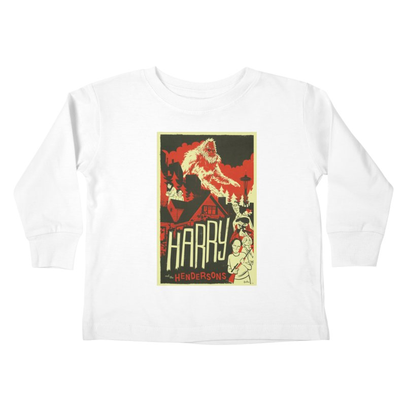 Harry and the Hendersons Kids Toddler Longsleeve T-Shirt by Hazy Dell Press