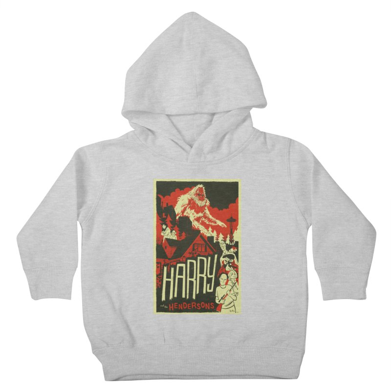 Harry and the Hendersons Kids Toddler Pullover Hoody by Hazy Dell Press