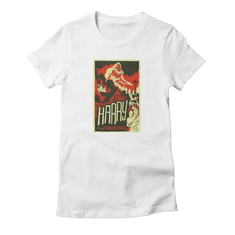 Harry and the Hendersons Women's T-Shirt by Hazy Dell Press