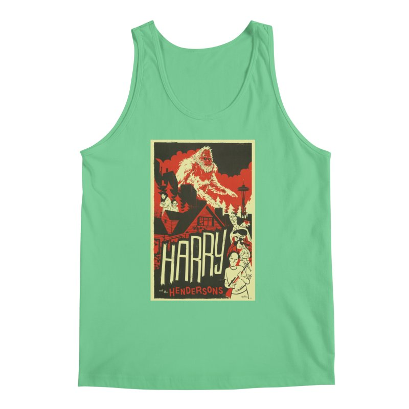 Harry and the Hendersons Men's Tank by Hazy Dell Press