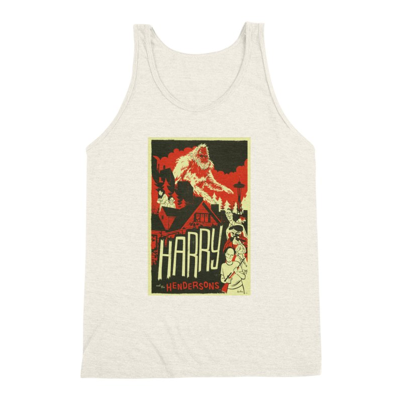 Harry and the Hendersons Men's Triblend Tank by Hazy Dell Press