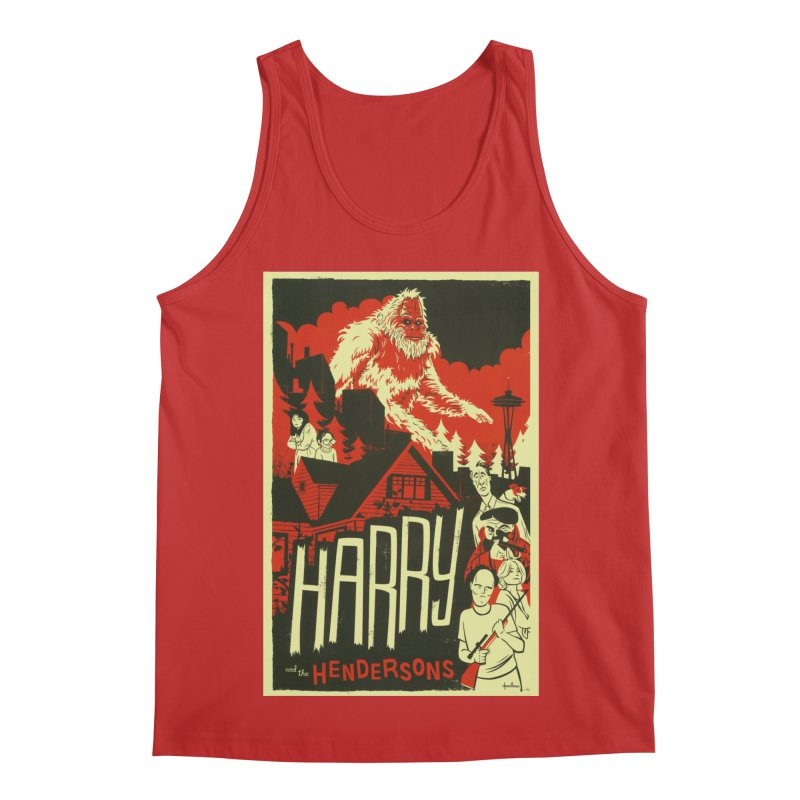 Harry and the Hendersons Men's Regular Tank by Hazy Dell Press