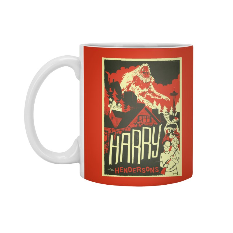 Harry and the Hendersons Accessories Standard Mug by Hazy Dell Press
