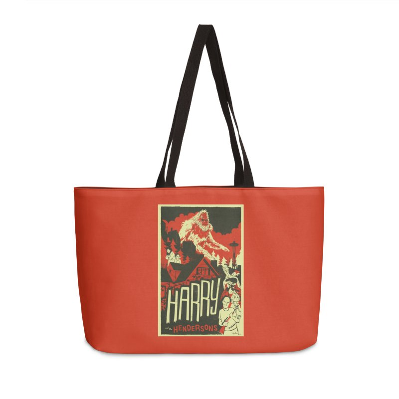 Harry and the Hendersons Accessories Weekender Bag Bag by Hazy Dell Press