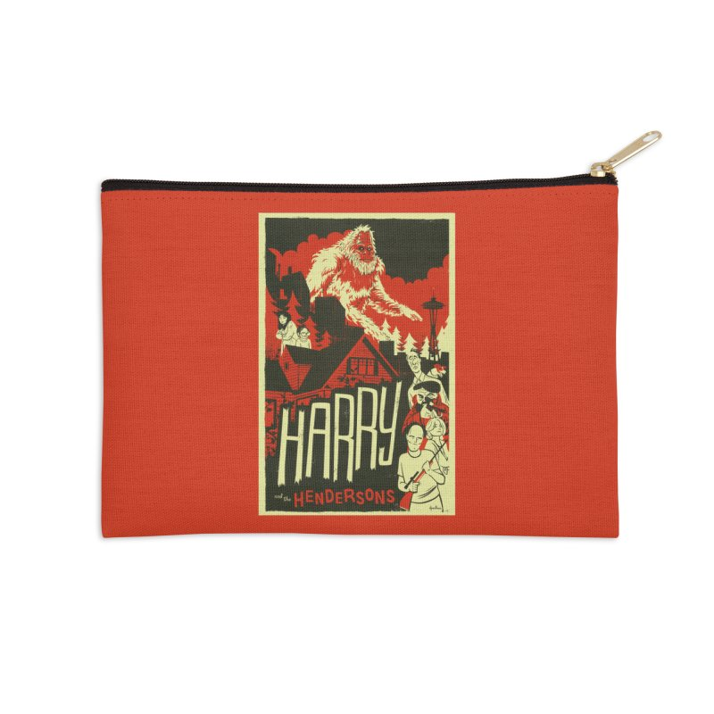 Harry and the Hendersons Accessories Zip Pouch by Hazy Dell Press