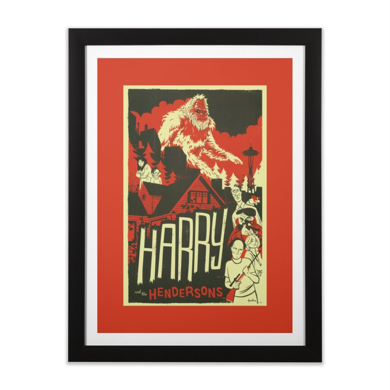 Harry and the Hendersons Home Framed Fine Art Print by Hazy Dell Press