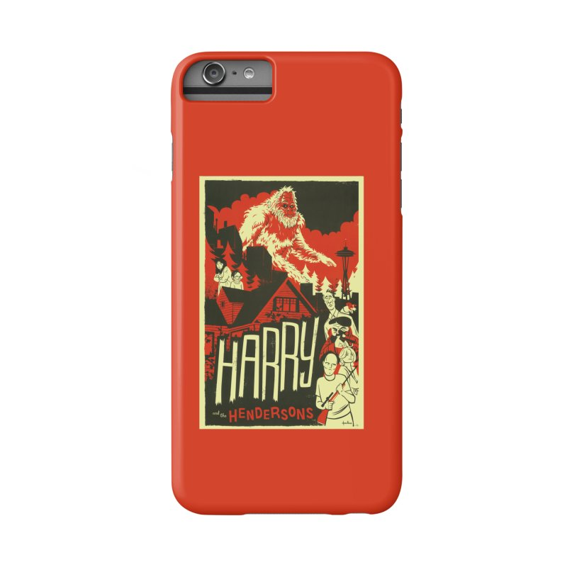 Harry and the Hendersons Accessories Phone Case by Hazy Dell Press