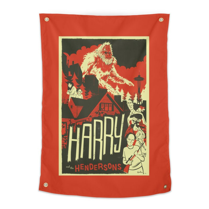 Harry and the Hendersons Home Tapestry by Hazy Dell Press