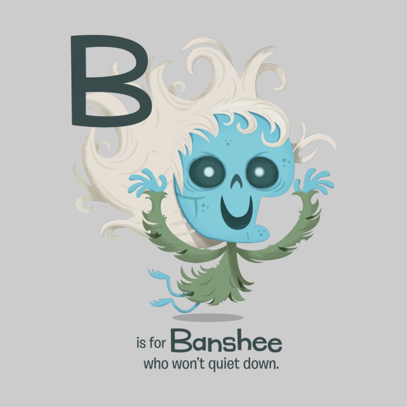 B is for Banshee Home Framed Fine Art Print by Hazy Dell Press