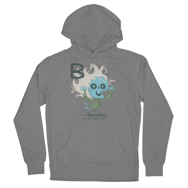 B is for Banshee Women's Pullover Hoody by Hazy Dell Press