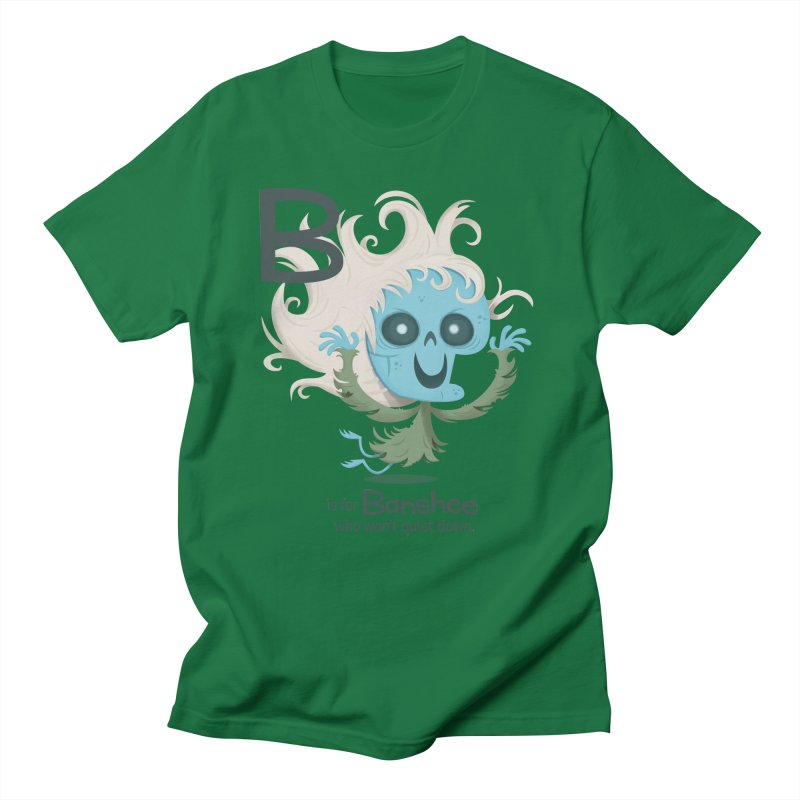 B is for Banshee Women's Unisex T-Shirt by Hazy Dell Press