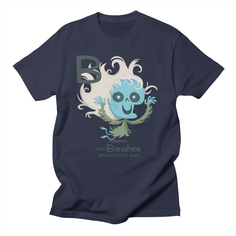 B is for Banshee Women's Regular Unisex T-Shirt by Hazy Dell Press
