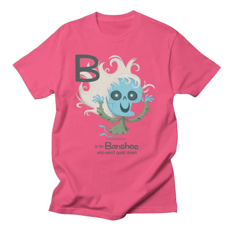 B is for Banshee Men's T-Shirt by Hazy Dell Press