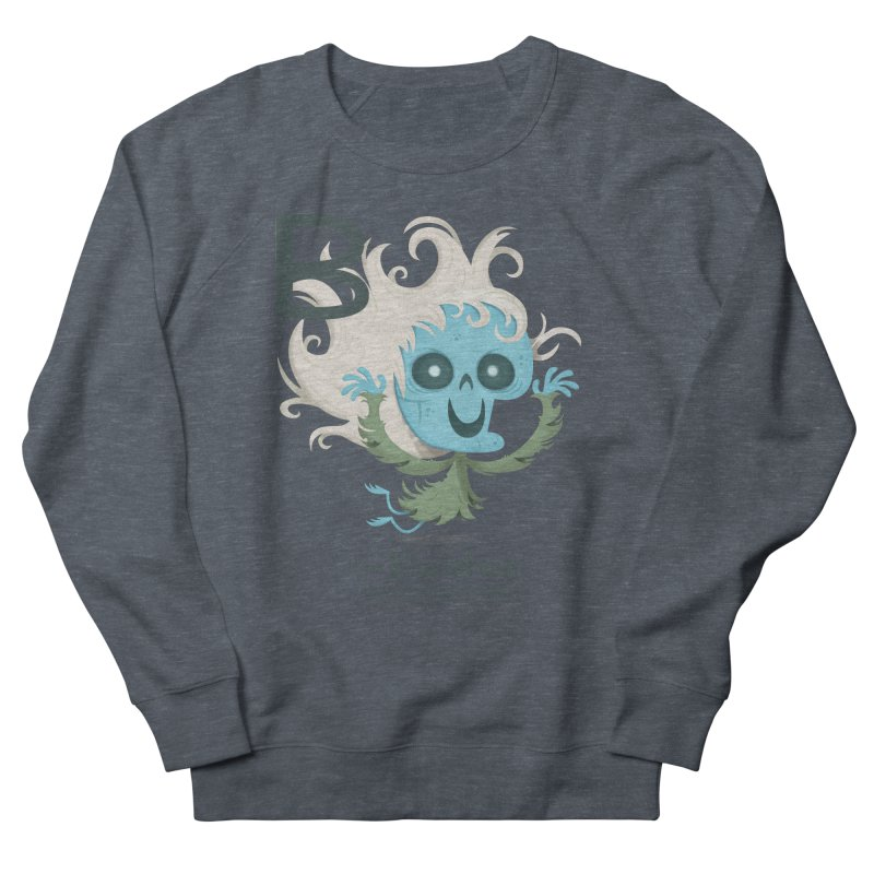 B is for Banshee Women's French Terry Sweatshirt by Hazy Dell Press
