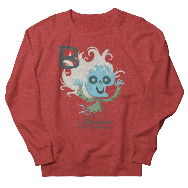 B is for Banshee Men's Sweatshirt by Hazy Dell Press