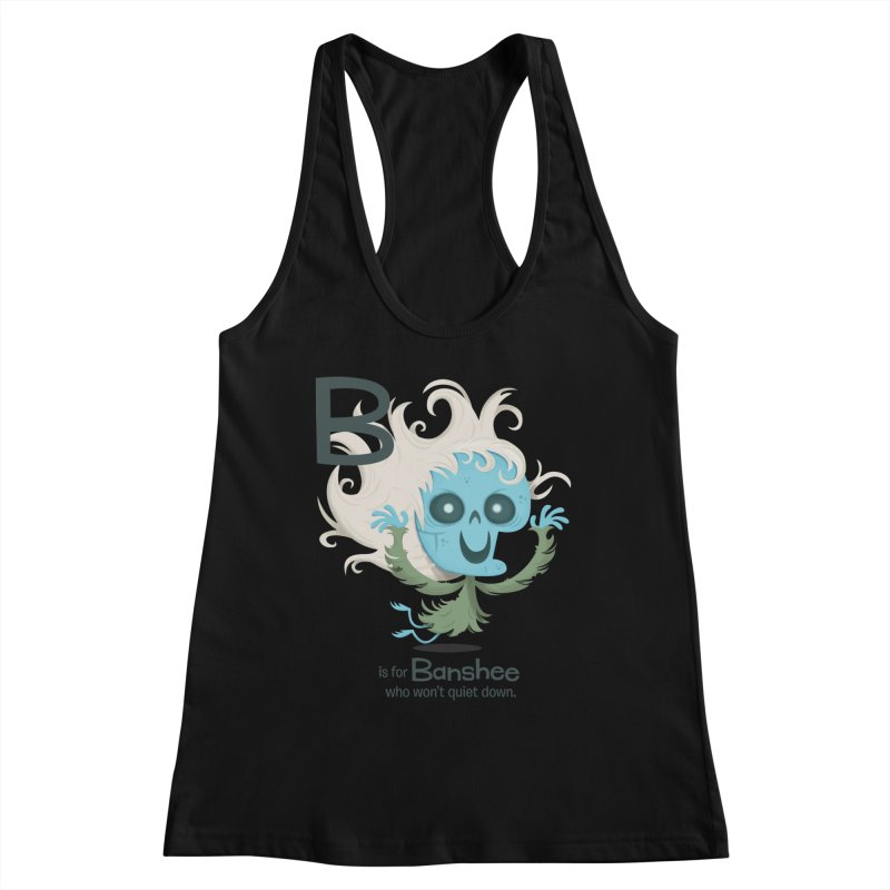 B is for Banshee Women's Tank by Hazy Dell Press