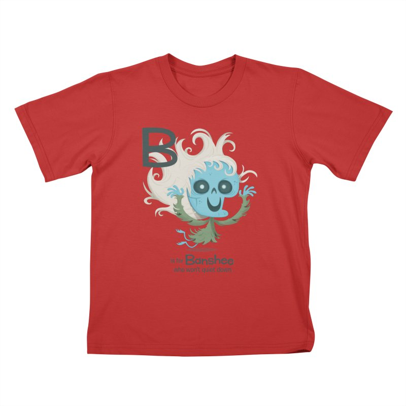 B is for Banshee Kids T-Shirt by Hazy Dell Press