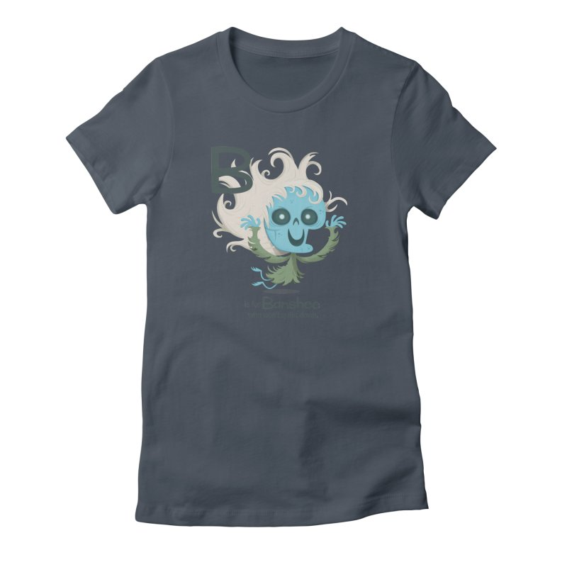 B is for Banshee Women's T-Shirt by Hazy Dell Press