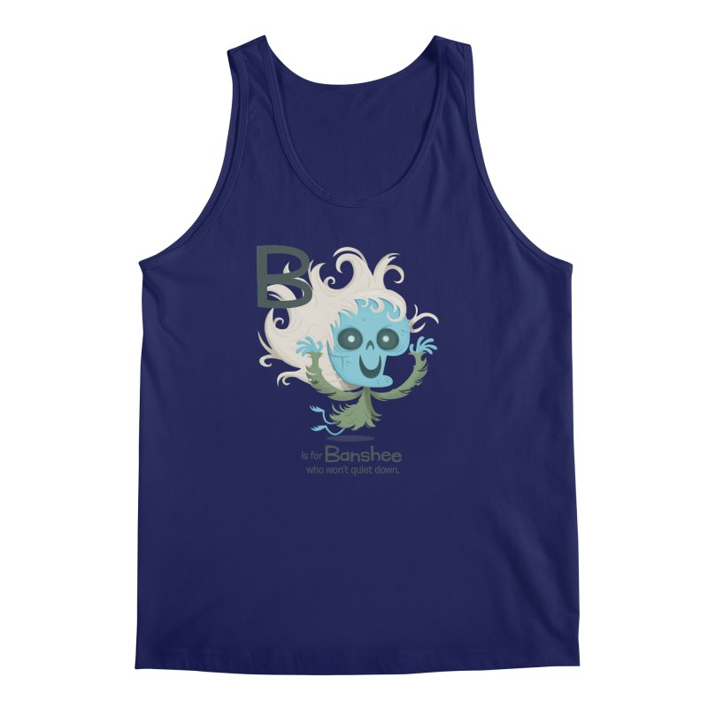 B is for Banshee Men's Tank by Hazy Dell Press