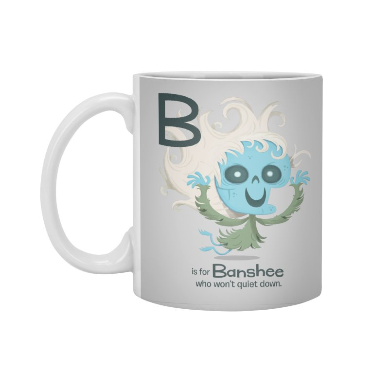 B is for Banshee Accessories Standard Mug by Hazy Dell Press