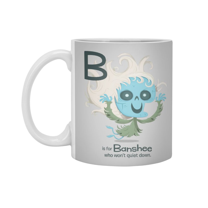 B is for Banshee Accessories Mug by Hazy Dell Press