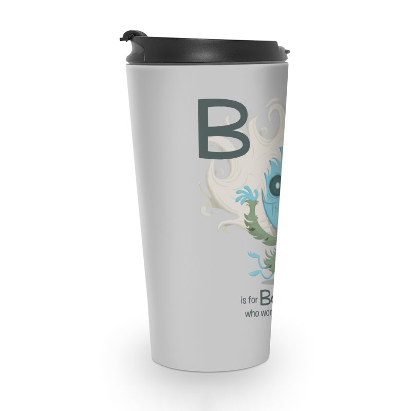B is for Banshee Accessories Travel Mug by Hazy Dell Press