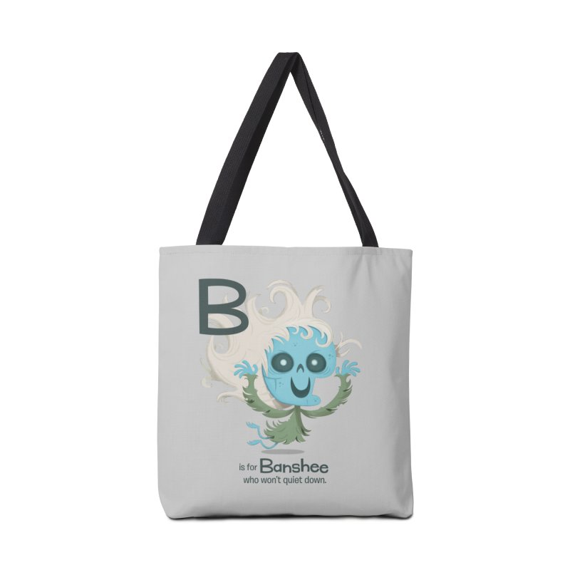B is for Banshee Accessories Tote Bag Bag by Hazy Dell Press