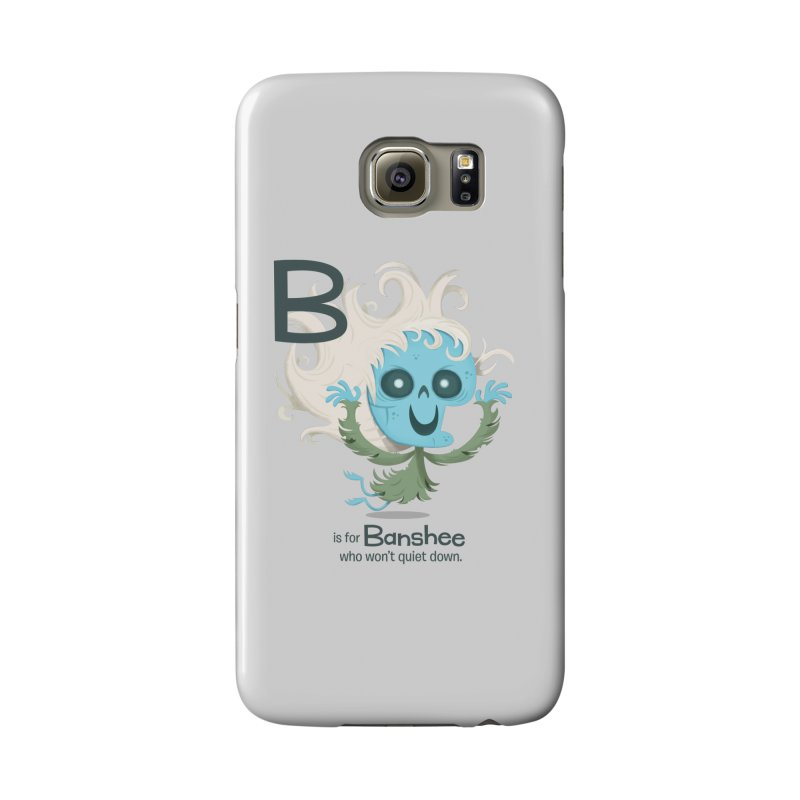 B is for Banshee Accessories Phone Case by Hazy Dell Press