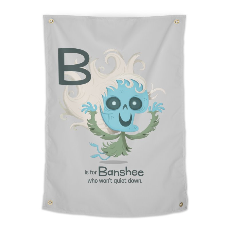 B is for Banshee Home Tapestry by Hazy Dell Press