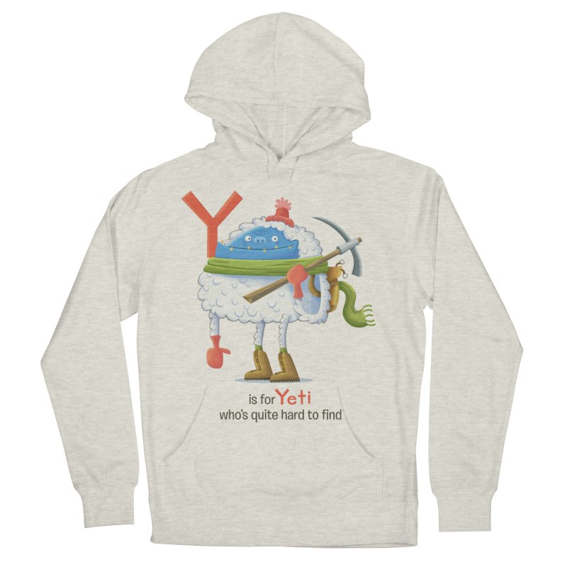 Y is for Yeti Women's Pullover Hoody by Hazy Dell Press