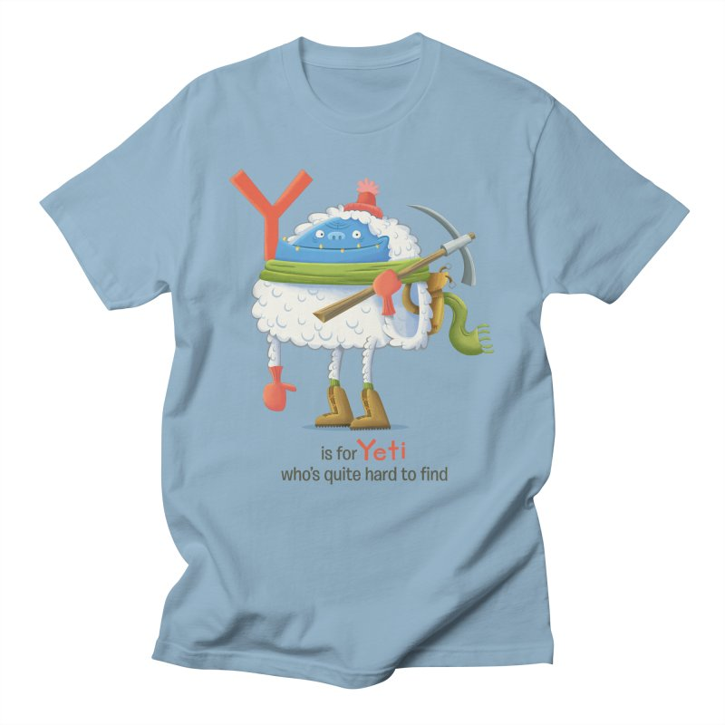 Y is for Yeti Women's Unisex T-Shirt by Hazy Dell Press
