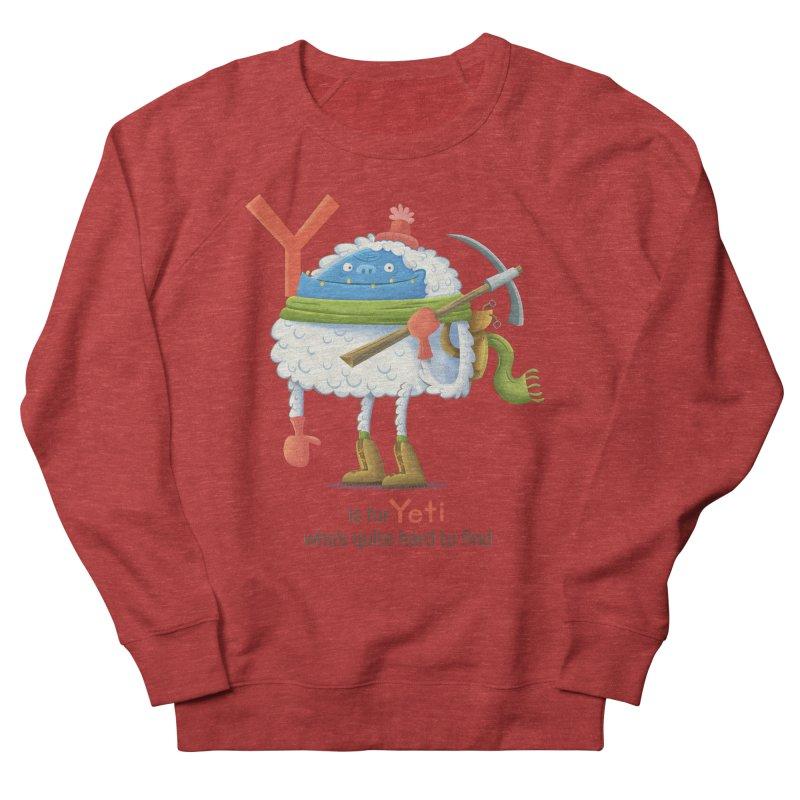 Y is for Yeti Women's Sweatshirt by Hazy Dell Press