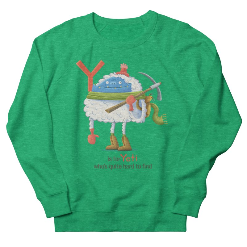 Y is for Yeti Men's Sweatshirt by Hazy Dell Press