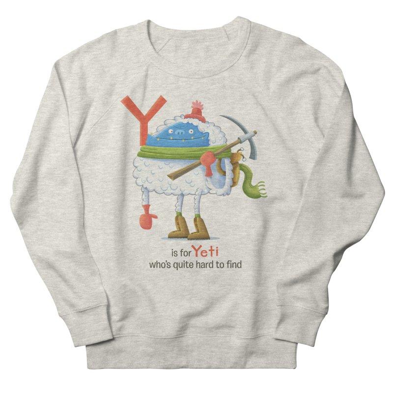 Y is for Yeti Men's Sweatshirt by Hazy Dell Press