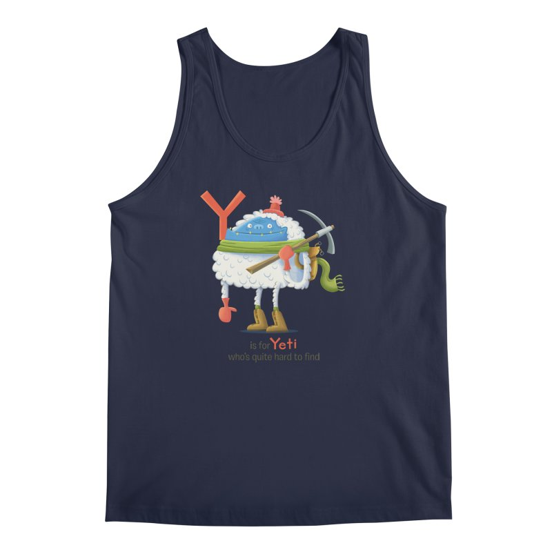 Y is for Yeti Men's Tank by Hazy Dell Press
