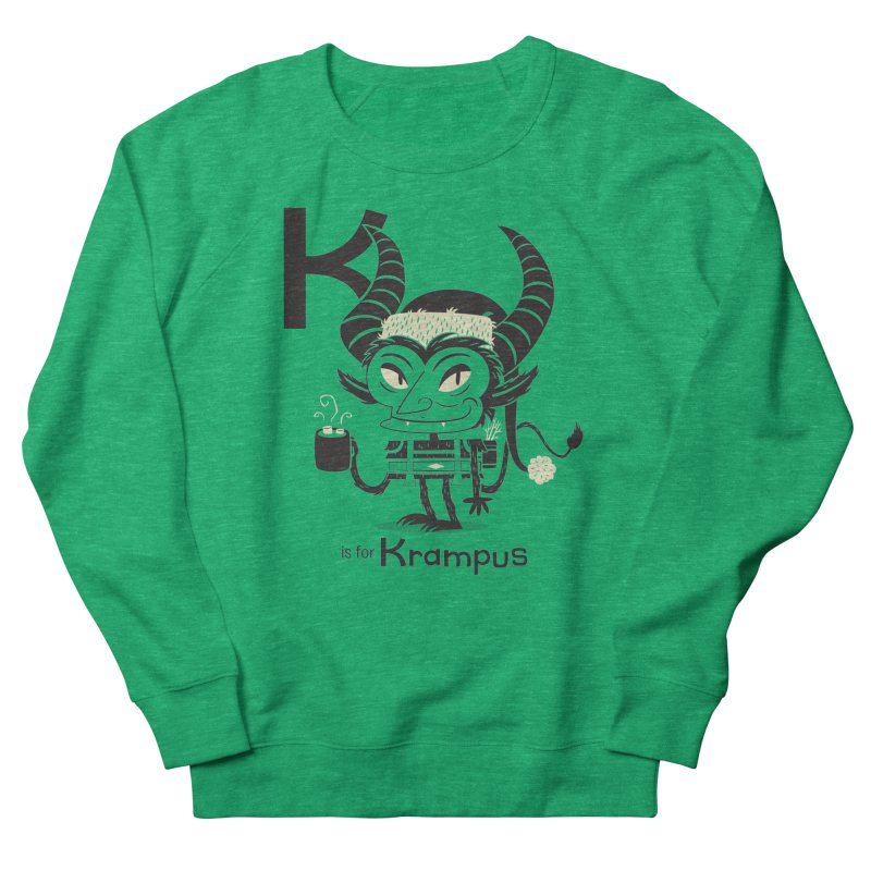 K is for Krampus Women's Sweatshirt by Hazy Dell Press