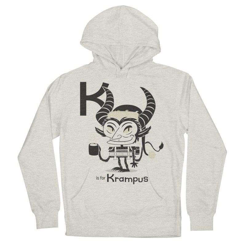 K is for Krampus Men's Pullover Hoody by Hazy Dell Press