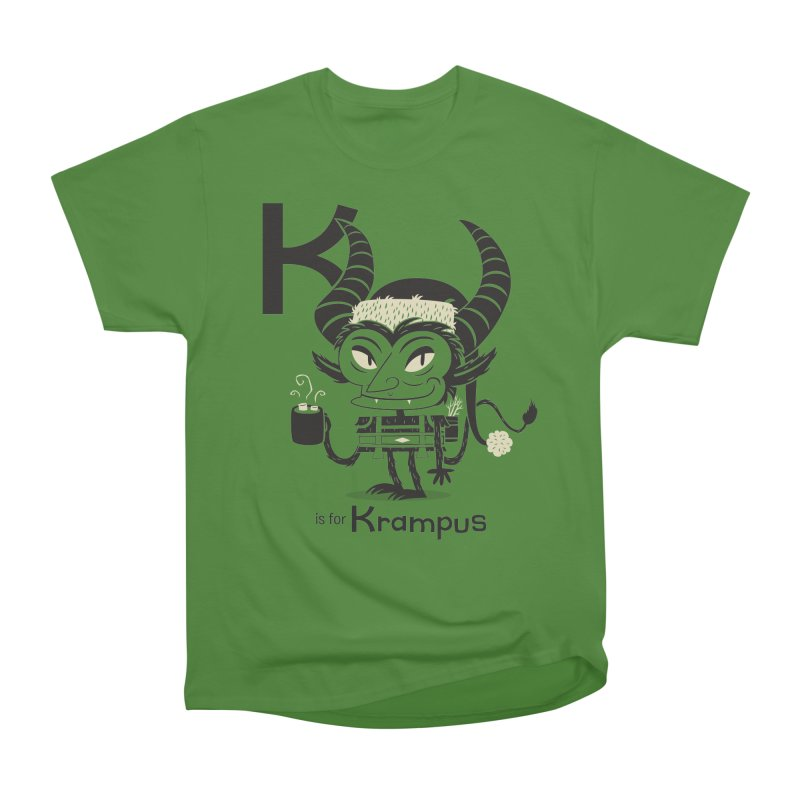 K is for Krampus Men's Classic T-Shirt by Hazy Dell Press