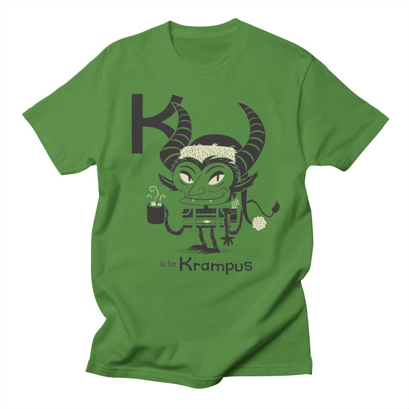 K is for Krampus Women's Regular Unisex T-Shirt by Hazy Dell Press