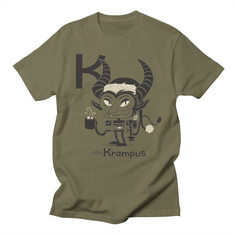 K is for Krampus Women's Unisex T-Shirt by Hazy Dell Press